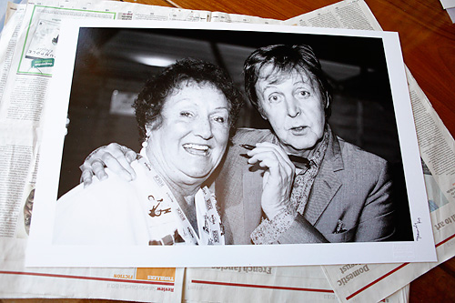 My Digigraphie print of Paul McCartney on auction tomorrow